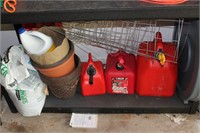Lot of Cleaning Supplies, and Garage Items