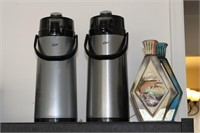 Coffee Dispensers, Cannisters, and Glassware