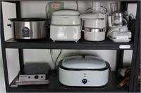 Kitchen lot incl. Kitchen Aid Food Processor