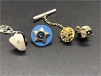 Tie Tacks and Lapel Pins