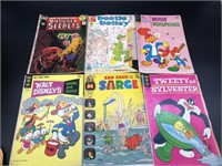 6-Vintabe Comic Books
