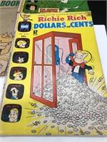 3-Vintage Richie Rich Comic