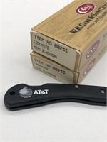 2-New Case Lockknife Mini-Blackhorn AT&T