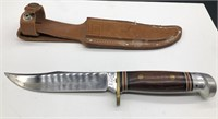 VTG WESTERN W36 D HUNTING KNIFE FIXED BLADE WITH