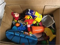 2 boxes of kids toys