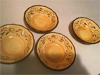 home dishes, plates, bowls, glasses