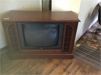 "25"" console tv, works"