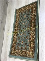 18 X 30 RUBBER BACK DOORMAT  BROWNS AND TAN COLOR