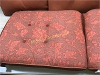 RUST COLOR PATIO CHAIR CUSHIONS
