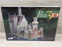 ALPINE CASTLE 3D PUZZLE  1000 PIECES