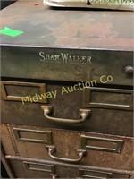 SHAW WALKER CARD FILE CABINET