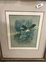 2 FRAMED BIRD PICTURES
