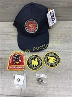 NRA PATCHES AND BALL CAP