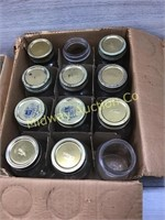 3 BOXES OF CANNING JARS