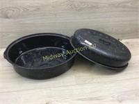 GRANITE ROASTING PAN