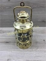 BRASS SHIP LOOK CANDLE LANTERN