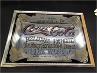 12x16 Coca Cola Mirror