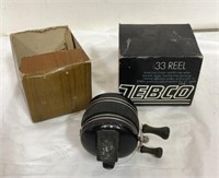 Zebco 33 Reel with original box