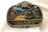 Durango and Silverton Narrow Gauge RR Belt buckle