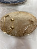 2 vintage Johnny Lee's Club Belt buckle