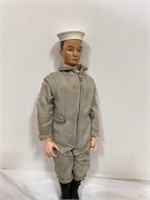 Vintage G.I. Joe Navy with 3 different outfits