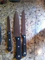 Precise knife set