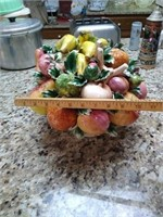 Florentia ceramic fruit bowl