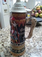 Charming beer stein