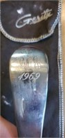Pair of Gerity Silverplated Serving Spoons