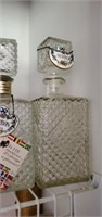 Glass Whiskey Decanters, Drink Mixer, & Stirrers