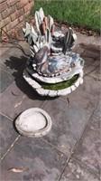 Very heavy duck water fountain