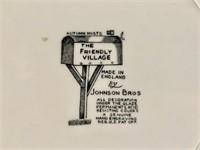 "Johnson Bros. ""Friendly Village"" china set"