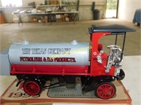 Texaco 1910 Mack Tanker - Die Cast Bank - by ERTL