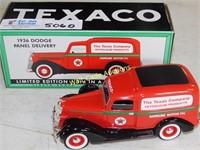 Texaco 1936 Dodge Series Panel Delivery Van - Die