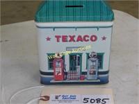 "Texaco Bank Tin 6""x5""x3"""
