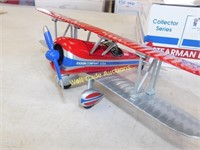 Exxon Tiger Spirit Stearman Bi-Plane Coin Bank