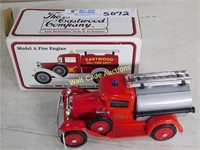 Ford Model A Fire Engine - Limited Edition Bank -