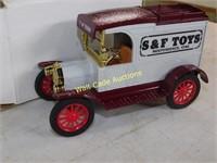 Ford 1913 Model T Delivery Van - S & F Toys - Die