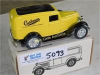 Ford 1932 Panel Van - Cushman - Die Cast Bank -
