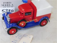 Ford Model A Pickup - DIe Cast Bank - 1/25 - By