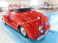 Chevrolet 1937 Chevy Cabriolet Fire Chief #4 Die
