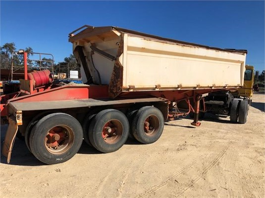 2009 Custom Side Tipper - Trailers for Sale