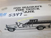 1926 Seagrave Fire Truck Springfield Fire Dept -