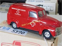 Red Cross - 1950 Chevy Panel Truck - 1/25 - Die