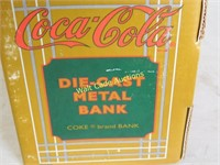 Coca-Cola Die-Cast Metal Bank  Made by The Ertl