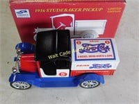 Pepsi 1916 Studebaker Pickup Lockable Coin Bank