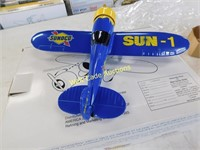 Sunoco Limited Edition #1 Die Cast Coin Bank The