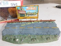 Scenery for Model Trains and Cars Roadway with