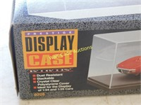 Clear Display Cases - Lot of 2 - 9 3/4x4 1/4x3