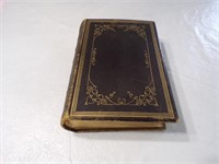 Antique 1881 Printing Holy Bible